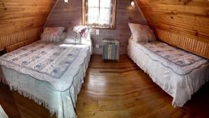 Chambre avec 1 lit 2 personnes + 1 lit 1 personne