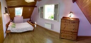 Chambre de 15 m²