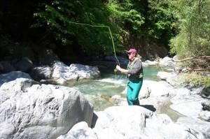 Pêche en torrents
